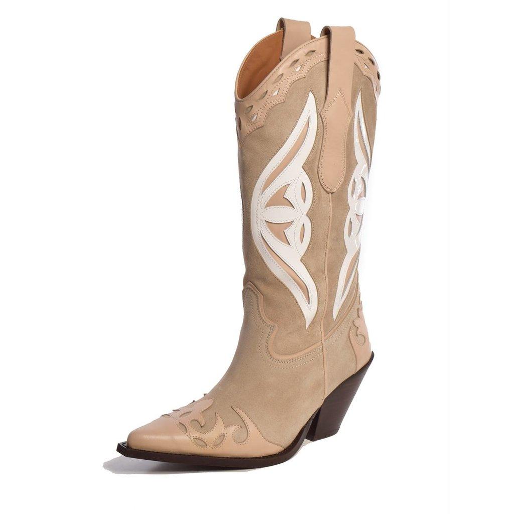 Toral Shoes Camel Laarzen TL-12514 Claartje