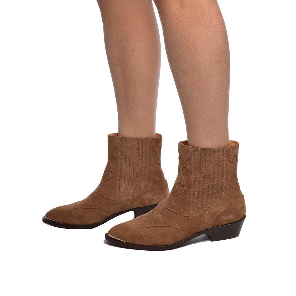 Toral Shoes Camel Laarzen TL-12517/metal