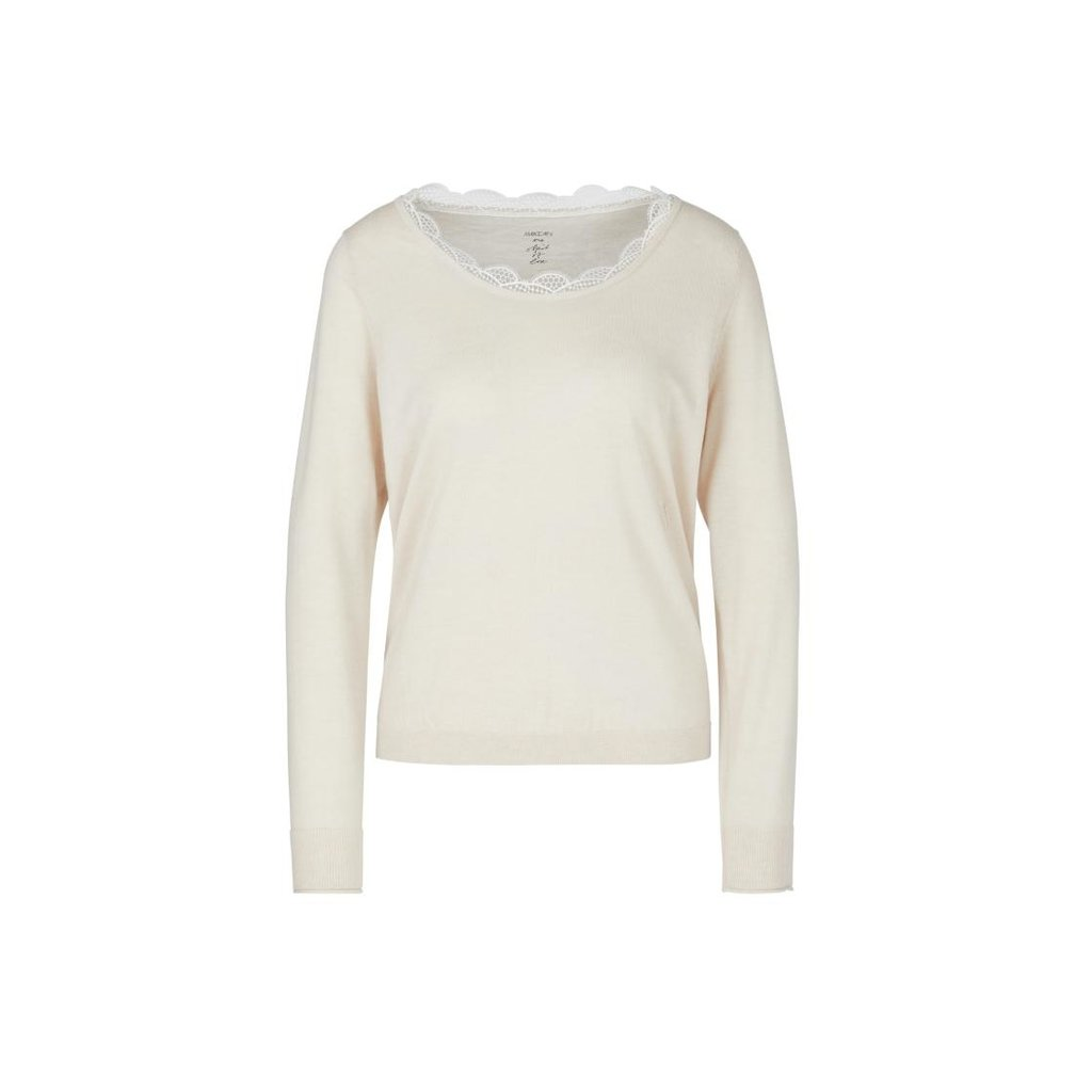 Marc Cain Off White Knit PC4108-M50