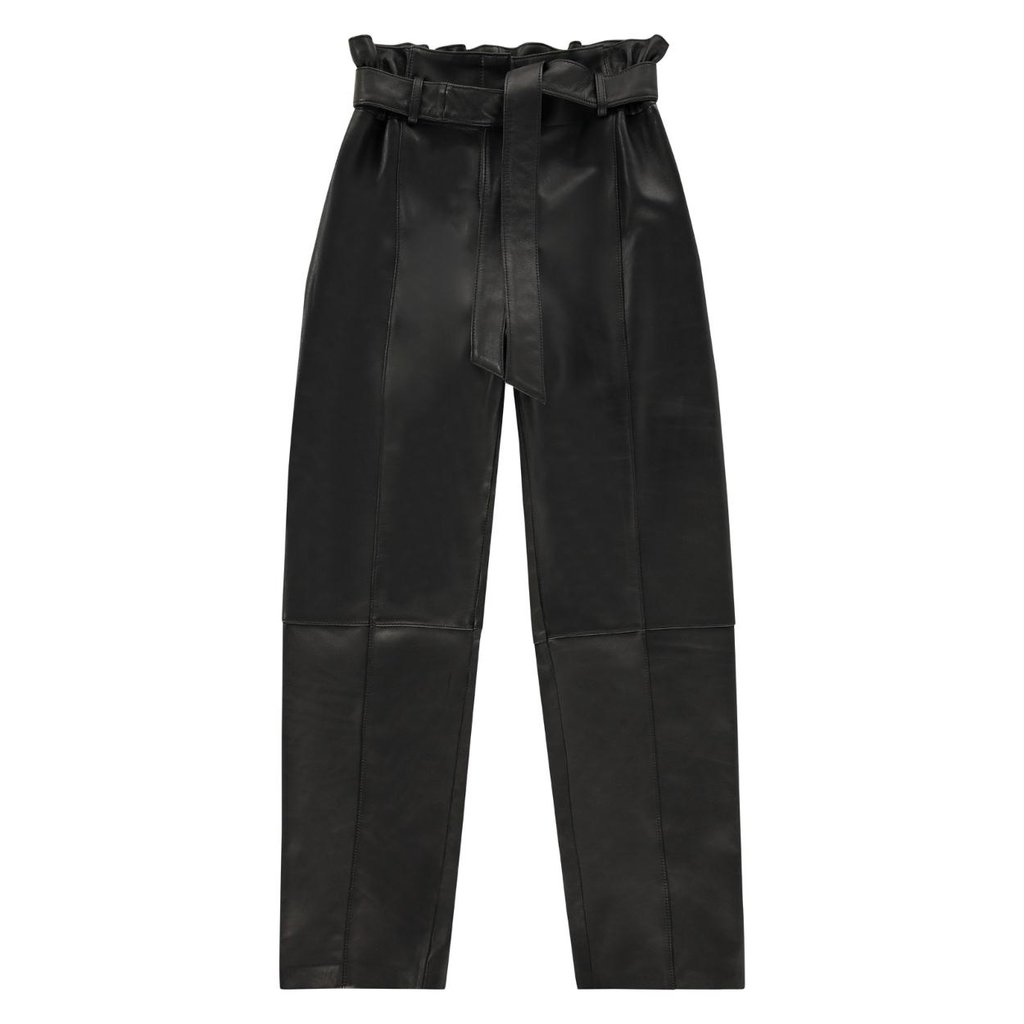 Studio AR by Arma Black Claire Leather Trousers 017L201114
