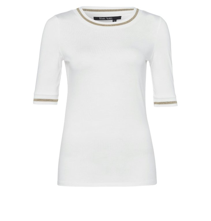 Marc Aurel Marc Aurel Off White Shirt 7880-7000-73116