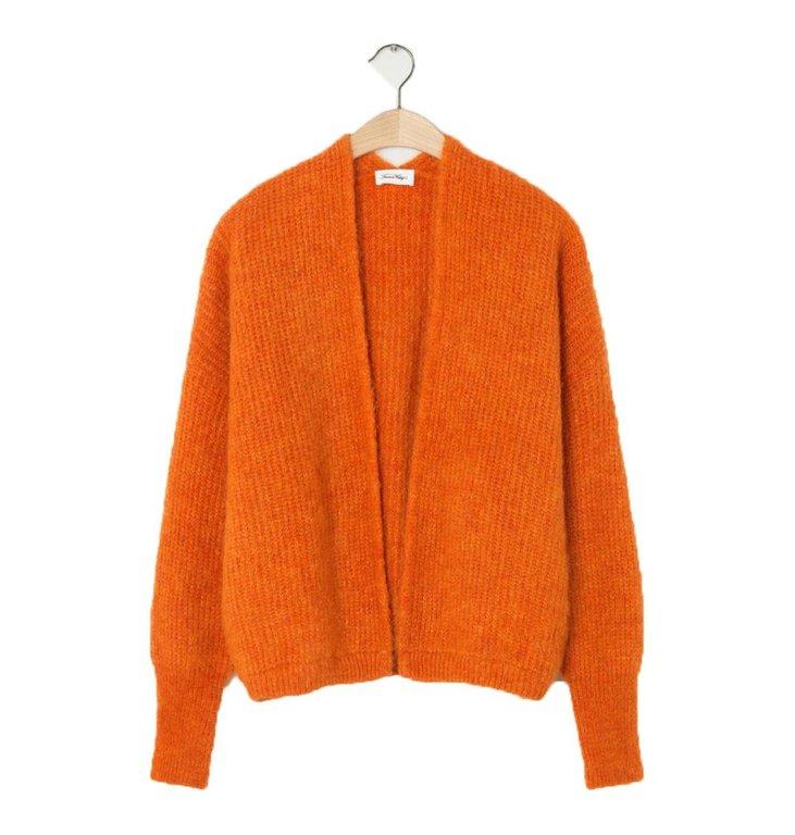 American Vintage American Vintage Orange Cardigan East19a