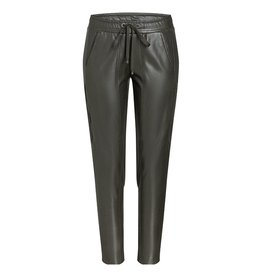 Cambio Cambio Kaki Jorden Faux Leather Pants 6305-0391-01