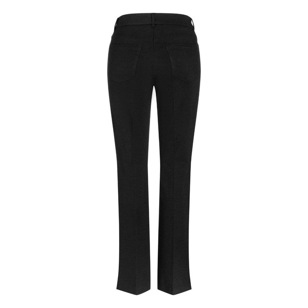 Cambio Black Fleur Pants 6201-0212-01