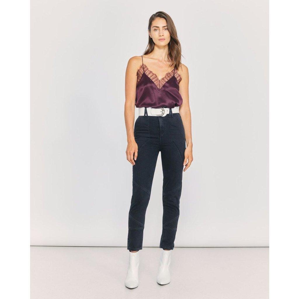 IRO Dark Grey Jeans Mattie