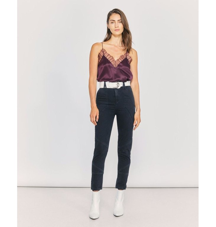 IRO IRO Dark Grey Jeans Mattie