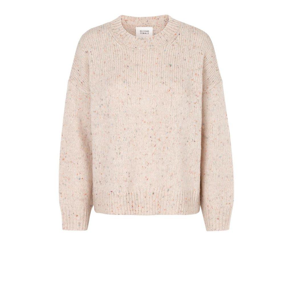 Second Female Sand Kalle knit 53690