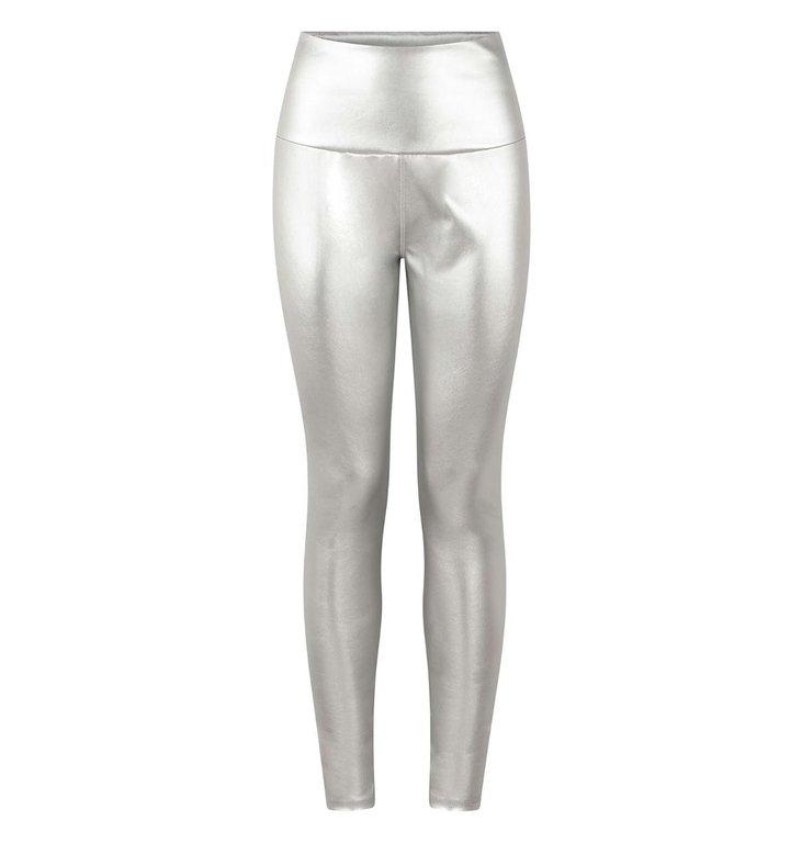 10Days 10Days Silver yoga leggings metallic 20-026-0203