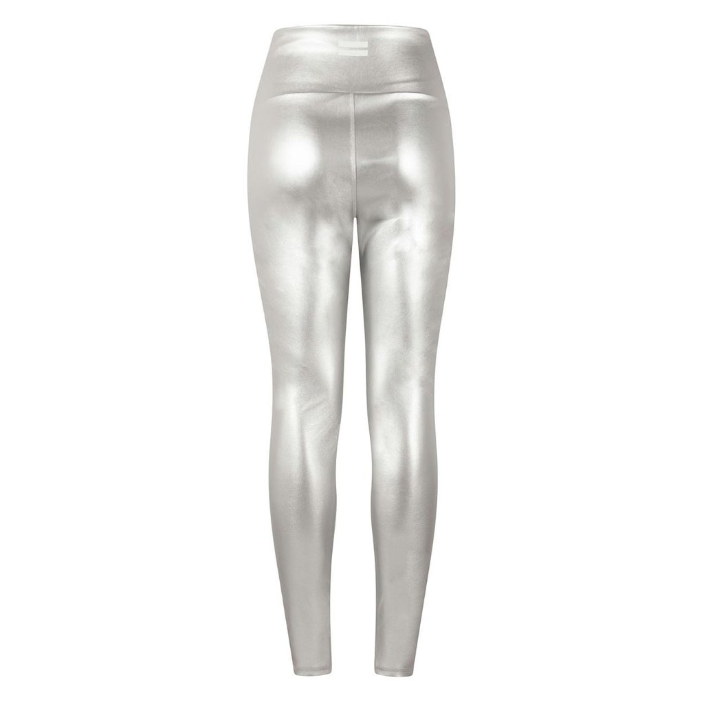 10Days Silver yoga leggings metallic 20-026-0203