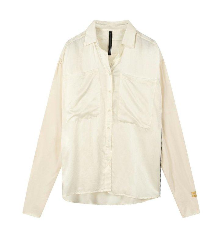 10Days 10Days Winter White shirt silk 20-408-0203