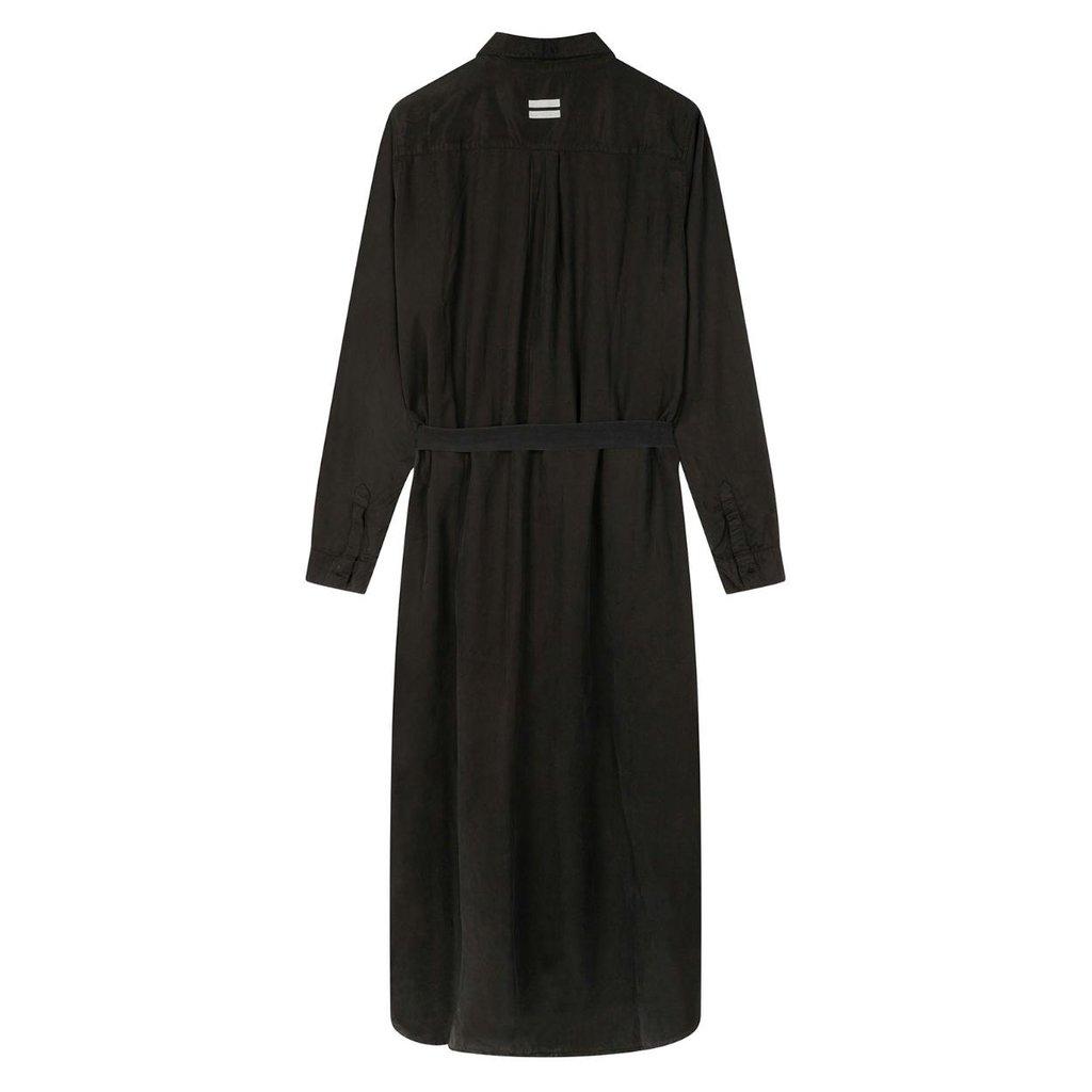 10Days Black long shirt dress 20-410-0203