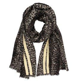 10Days 10Days Winter White scarf leopard 20-909-0203