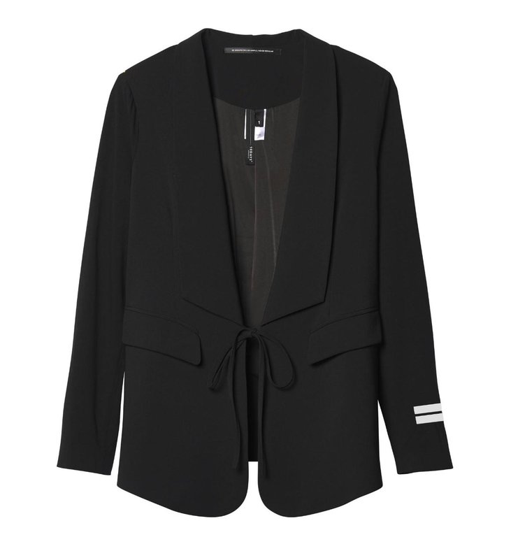 10Days 10Days Black smoking blazer 20-515-0203