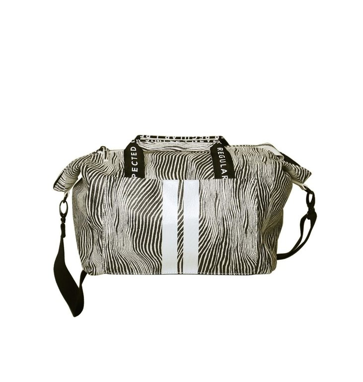 10Days 10Days Safari small weekend bag zebra 20-950-0203