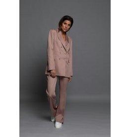Chptr S Chptr S Dust Pink Pants Vibrant