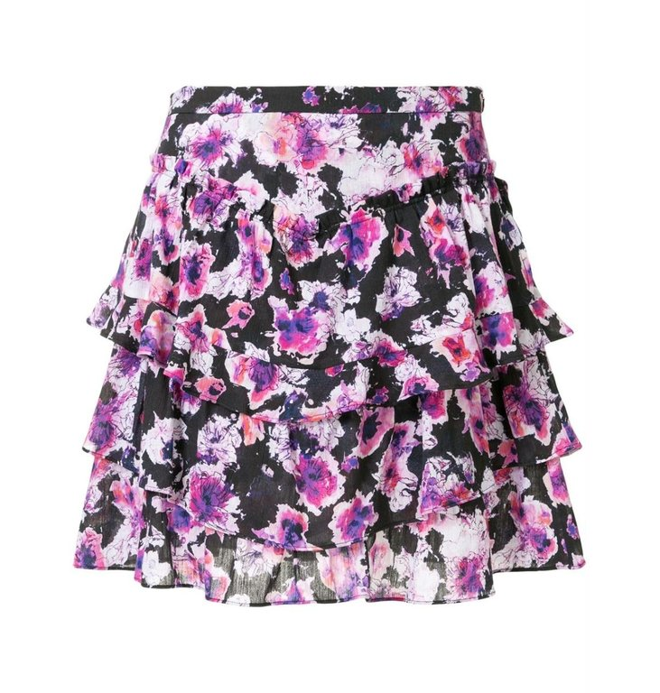IRO IRO Purple Skirt Sprink