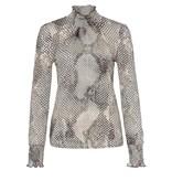 Marc Aurel Snake Print Shirt 7062-7000-73230
