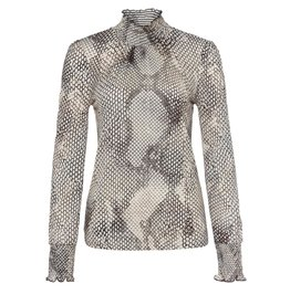 Marc Aurel Marc Aurel Snake Print Shirt 7062-7000-73230