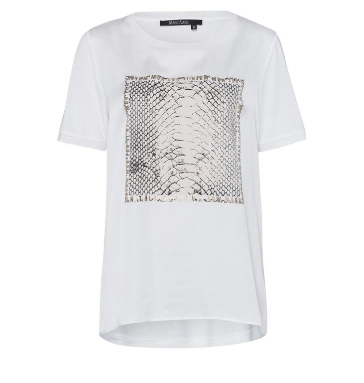 Marc Aurel Marc Aurel Off White Shirt 7052-7000-73235