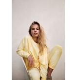 10Days Yellow Cropped Jogger Tie Dye 20-002-0206