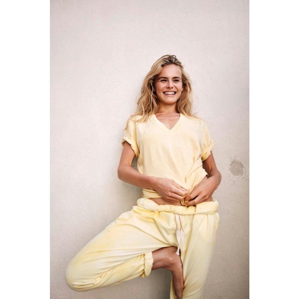 10Days Yellow Oversized Jogger Tie Dye 20-003-0206