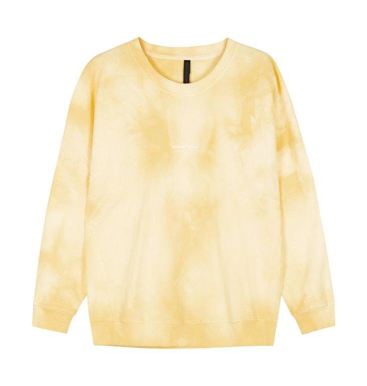 10Days 10Days Yellow Oversized Sweater Tie Dye 20-803-0206