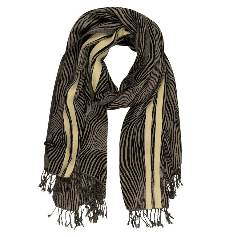 10Days 10Days Safari Scarf Zebra 20-904-0203