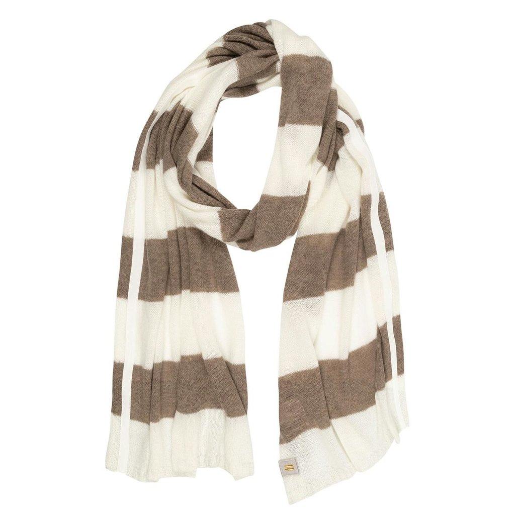 10Days Ecru Scarf Stripes 20-694-0203