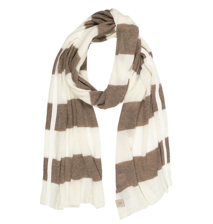 10Days 10Days Ecru Scarf Stripes 20-694-0203