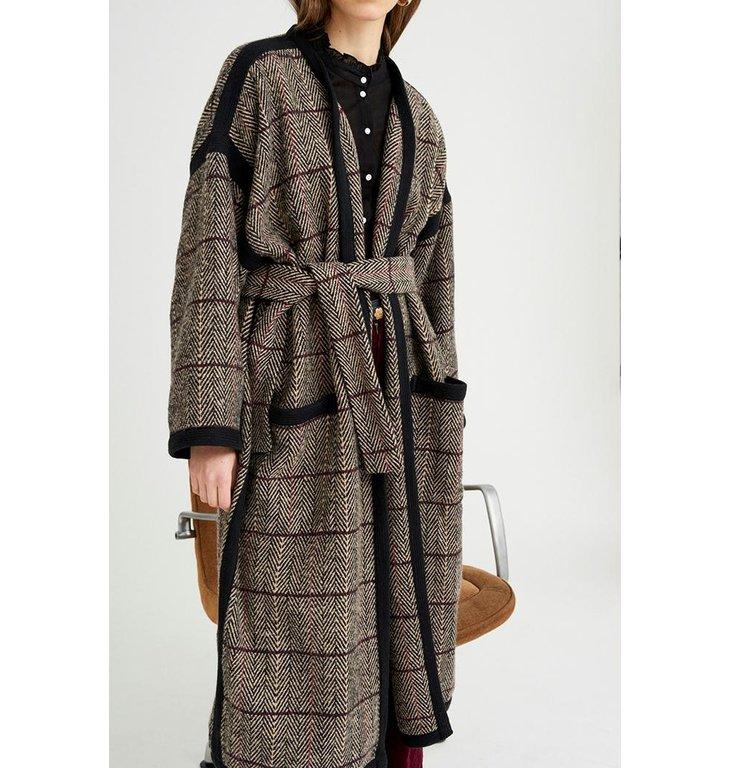 Antik Batik Antik Batik Brown Coat Harry