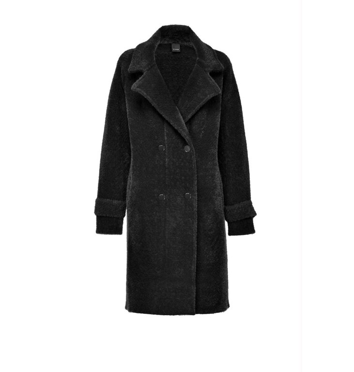 Pinko Pinko Black Coat Birmania Cappotto