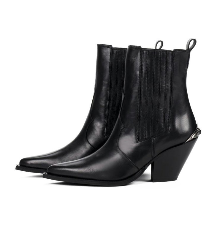 Toral Shoes Toral Shoes Black Boots TL-12542