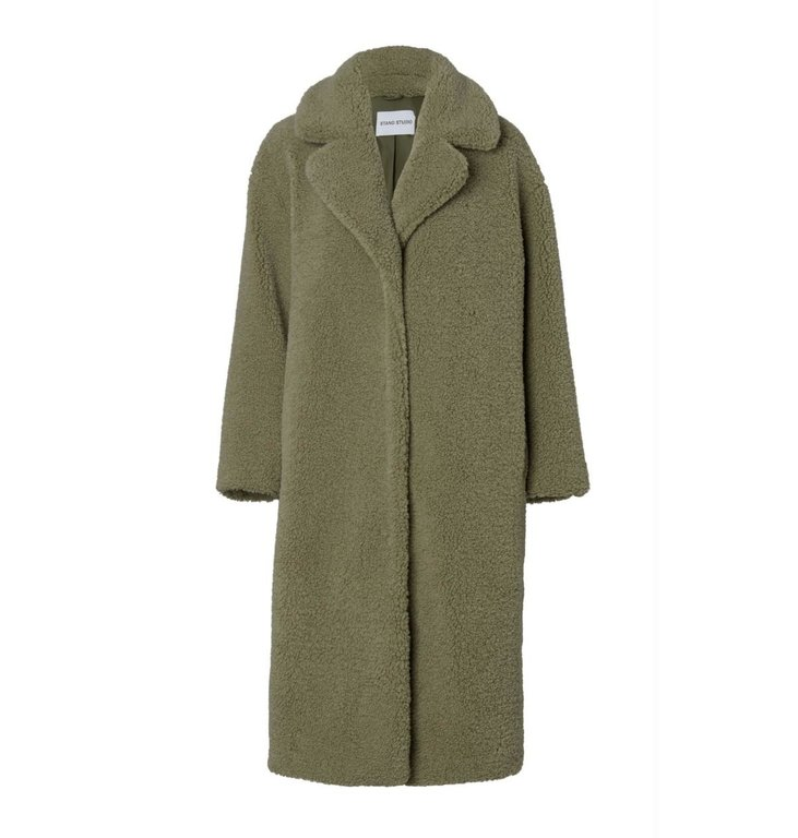 Stand Stand Green Camille Faux Fur Coat 61185-9040