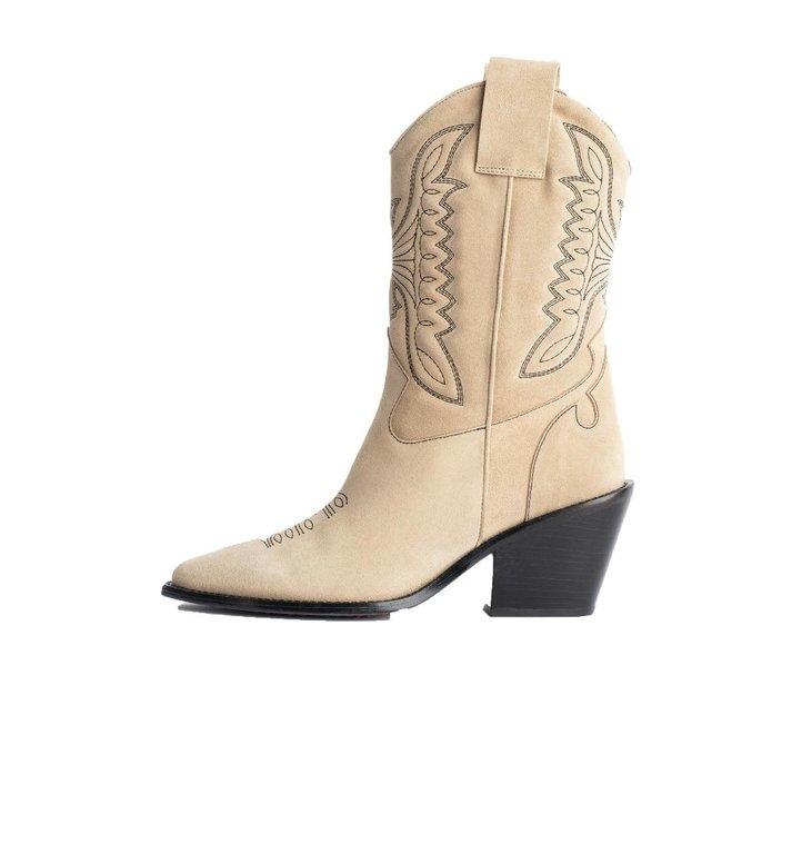 Zadig & Voltaire Zadig & Voltaire Beige Boots Zadig Cowboy
