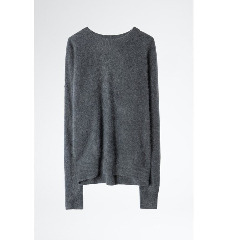 Zadig & Voltaire Zadig & Voltaire Grey Knit Roby C Brushed