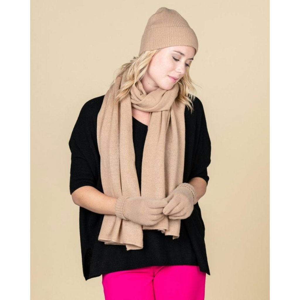 Absolute Cashmere Camel Sjaal Anais AC102000C