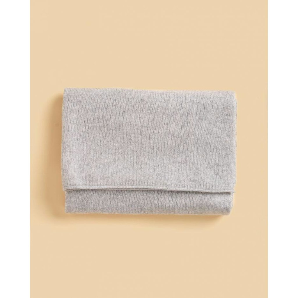 Absolute Cashmere Light Grey Melee Sjaal Anais AC102000C