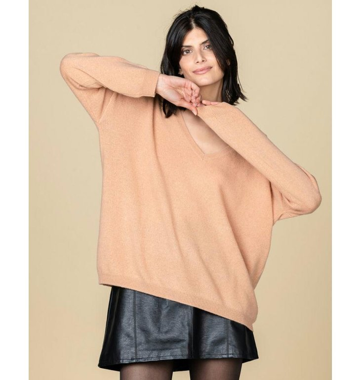 Absolute Cashmere Absolute Cashmere Camel Pull Angele AC102019C