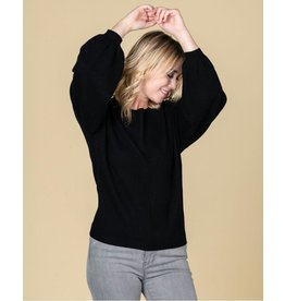 Absolute Cashmere Absolute Cashmere Black Pull Jade AC102031C