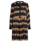 Marc Aurel Black/Camel Jurk 6692-1000-92920