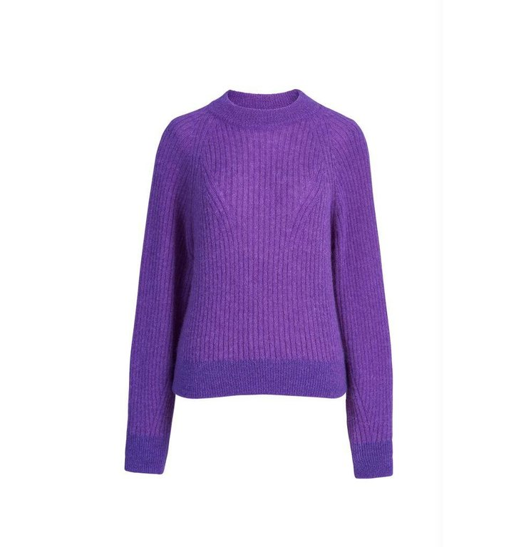 Essentiel Antwerp Essentiel Antwerp Purple Trui Wovit