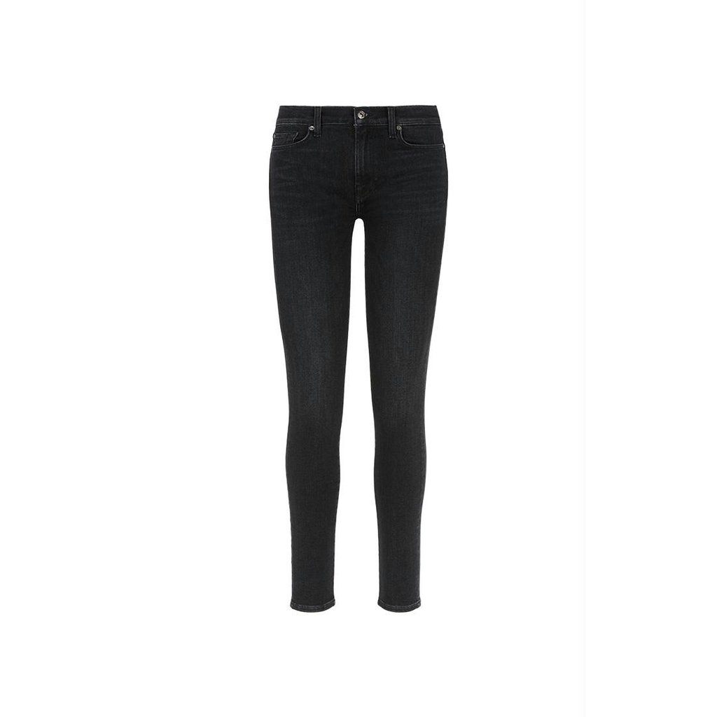 7 For All Mankind Dark Grey The Skinny Jeans JSWTR850