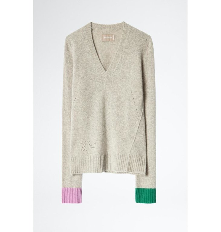 Zadig & Voltaire Zadig & Voltaire Sand Knit Nicko C Pull