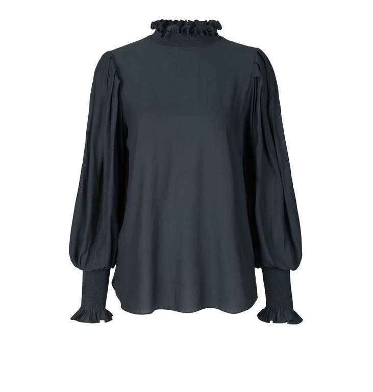 Second Female Second Female Black Florenza Blouse 53926