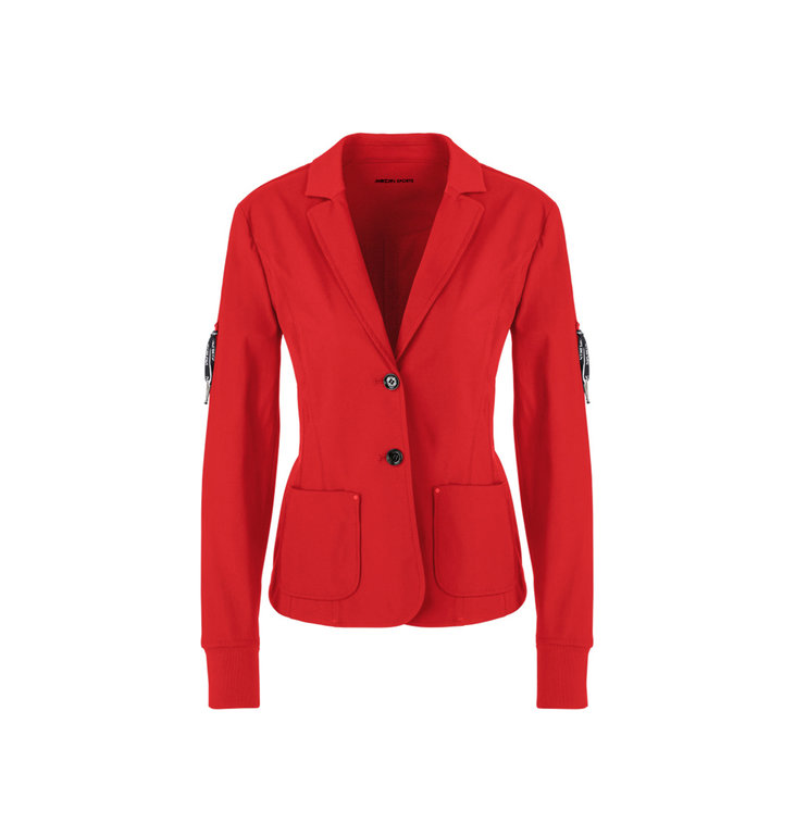 Marc Cain Marc Cain Red Blazer PS3403-J04