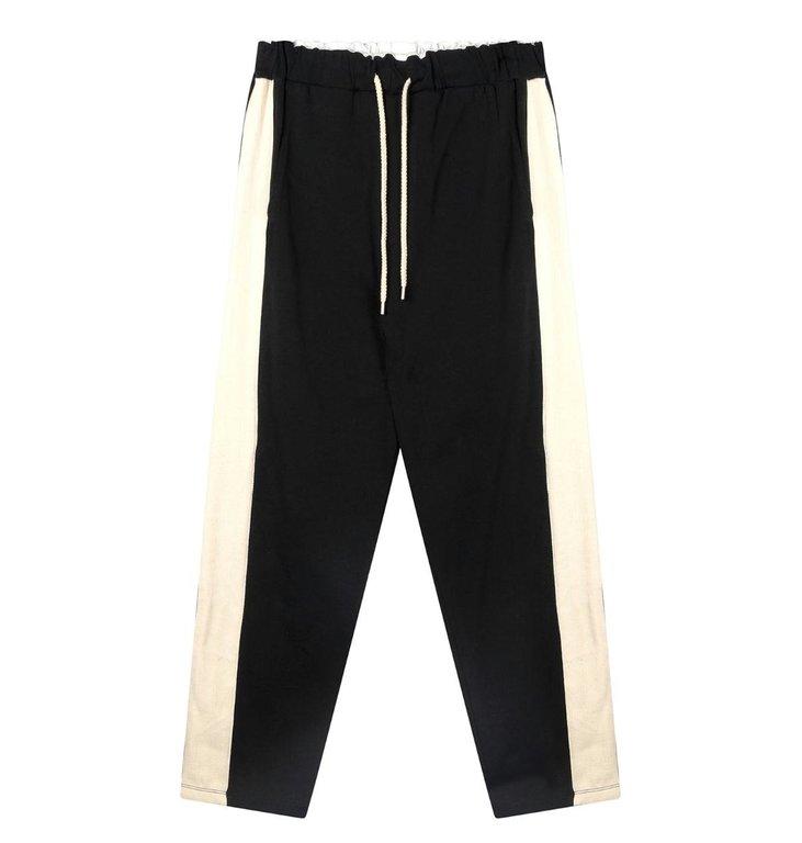 10Days 10Days Black straight pants smoking 20-016-0203
