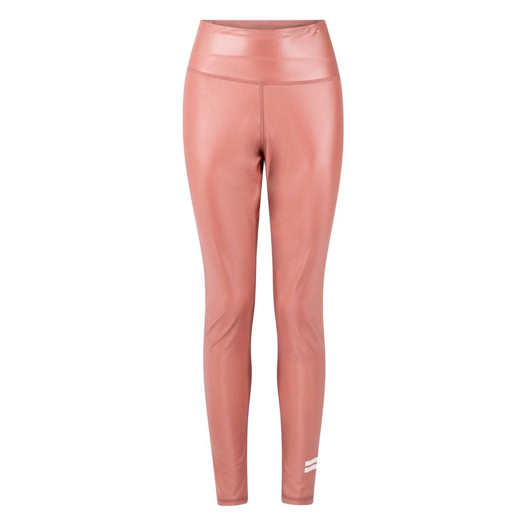 10Days Pink Terracotta thick yoga leggings shiny 20-021-0203