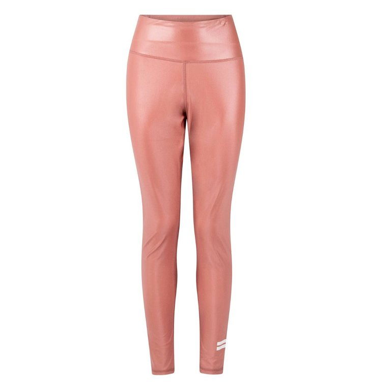 10Days 10Days Pink Terracotta thick yoga leggings shiny 20-021-0203