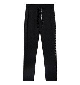 10Days 10Days Black banana pants leopard 20-057-0203