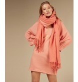 10Days Pink Terracotta v-neck tunic fleece 20-346-0203